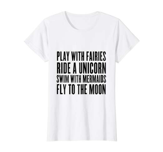Amazon Com  Play With Fairies, Ride Unicorn, Swim With Mermaids T
