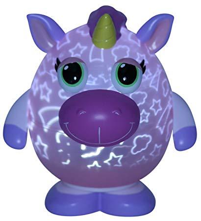 Amazon Com  Playbrites 10  Unicorn Light Show Night Light Toy With