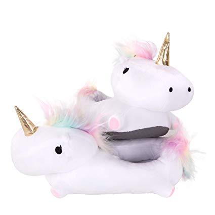 Amazon Com  Smoko Light Up Unicorn Slippers, Kawaii Kid's