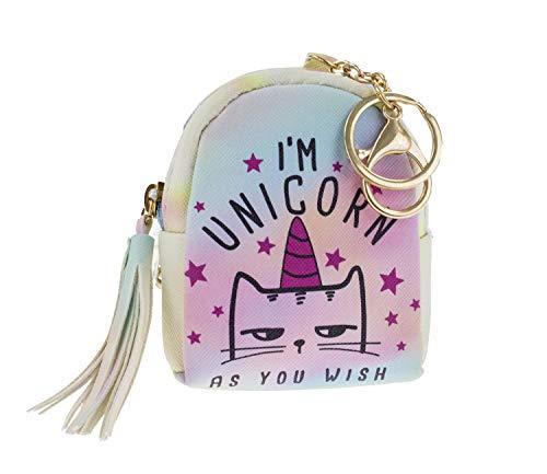Amazon Com  Stylesilove Unicorn Mini Coin Purse Zipper Bag