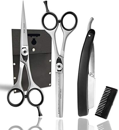 Amazon Com  Unicorn Sharp 6 0  Professional Barber Scissors Kit