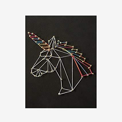 Amazon Com  Unicorn String Art Kit Sponge Diy, Arts Crafts Kit