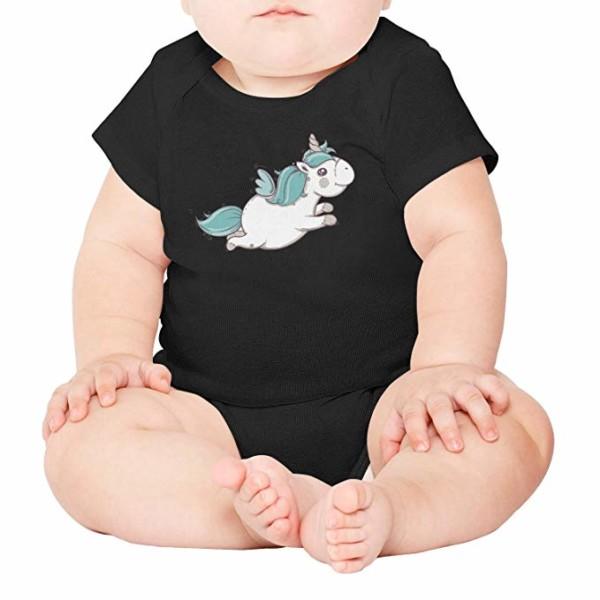 Amazon Com  Xanx Smon Baby Onesies Bodysuit Cute Flying Unicorn