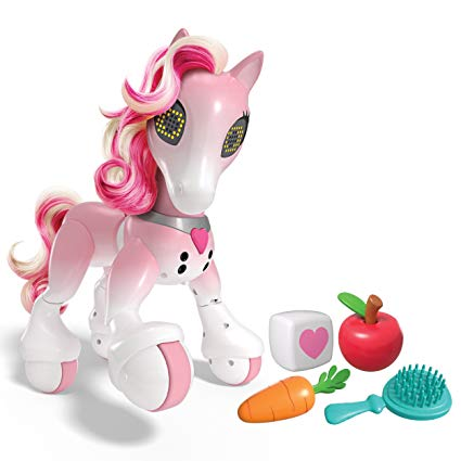 Amazon Com  Zoomer Show Pony With Lights, Sounds And Interactive