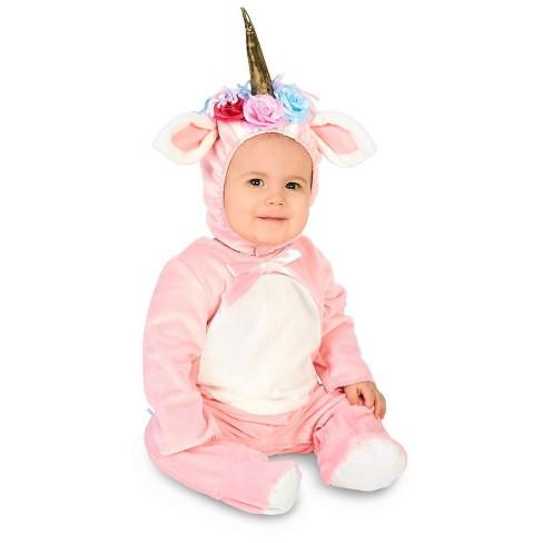 Baby Enchanted Pink Unicorn Costume 12