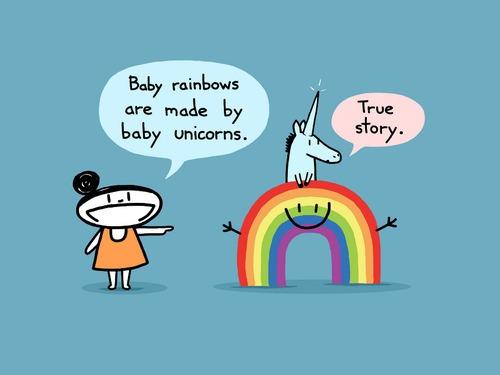 Baby Unicorn Sebastien Millon Discovered By @envoutement