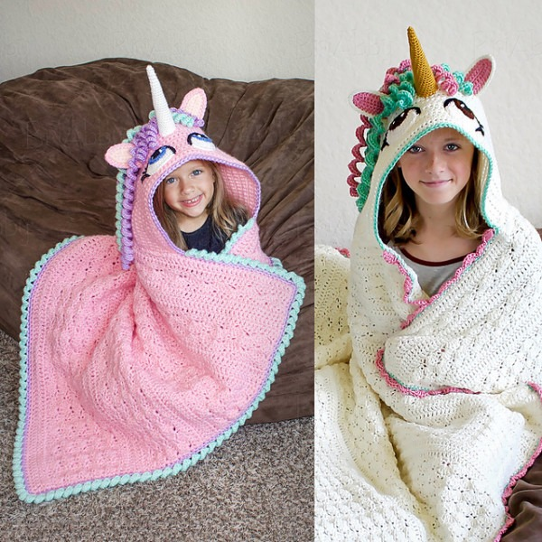 Beautiful Unicorn Blanket