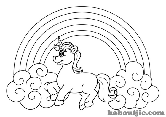 Beautiful Unicorn Coloring Pages For Kids And Adults