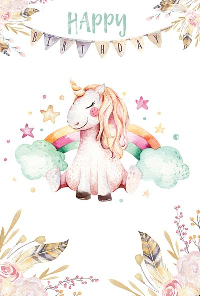 Birthday Quotes   Birthday Unicorn – Omg Quotes