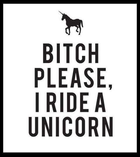 Bitch Please I Ride A Unicorn