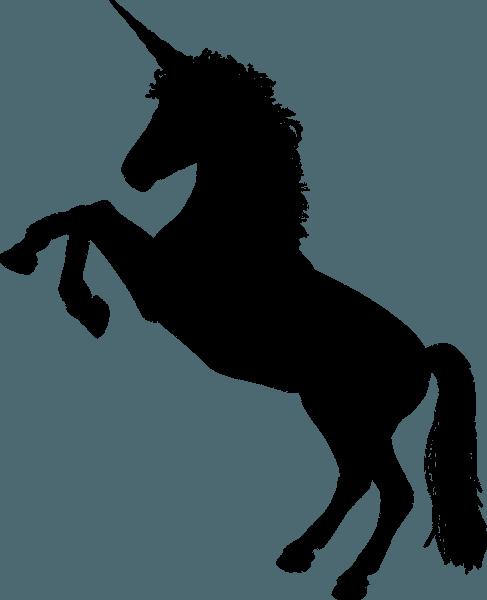 Black Unicorn Horn · Free Vector Graphic On Pixabay