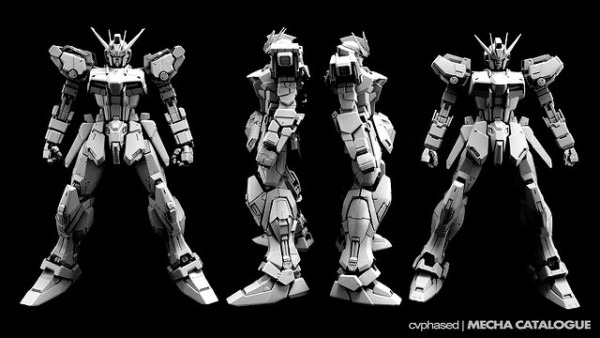 Blog  Dragon Momoko – Mg Strike Gundam With Pg Details