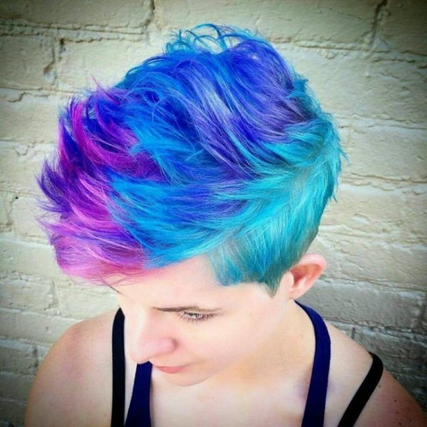 Bright Unicorn Hair