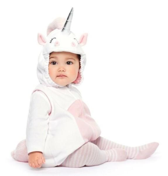 Carters Halloween Costume White Unicorn 6