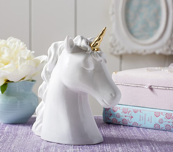 Ceramic Unicorn Piggy Bank