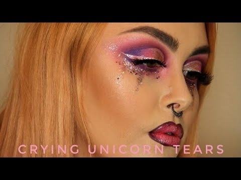 Crying Unicorn Tears