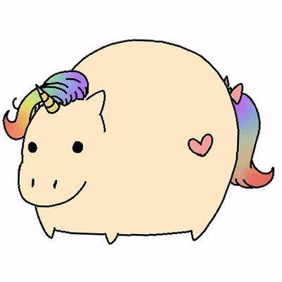 Cute Fat Unicorn (@whyusocutehuh)