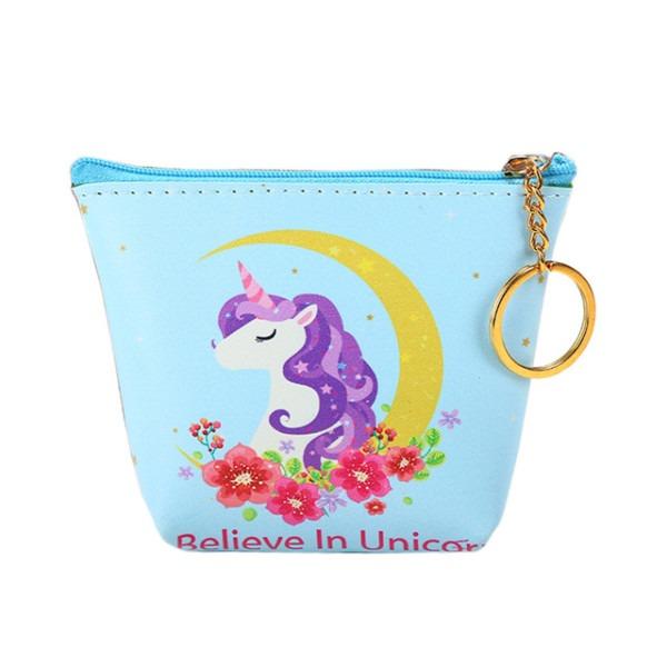 Cute Unicorn Coin Purses Holder Girls Kawaii Animal Mini Change