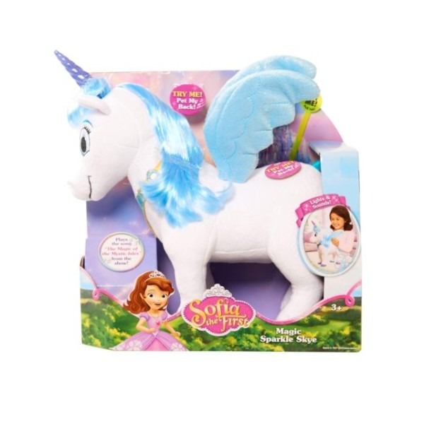 Disney Sofia The First Magic Sparkle Skye Unicorn Lights Up Talks
