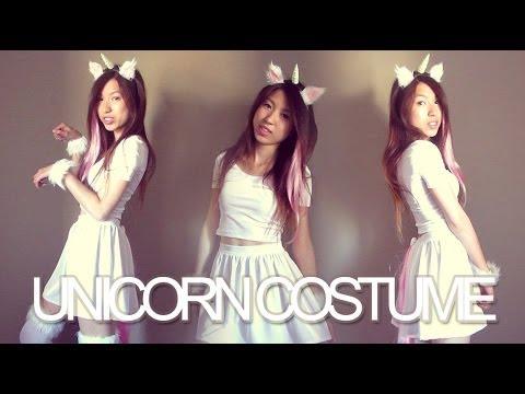Diy  Unicorn Halloween Costume