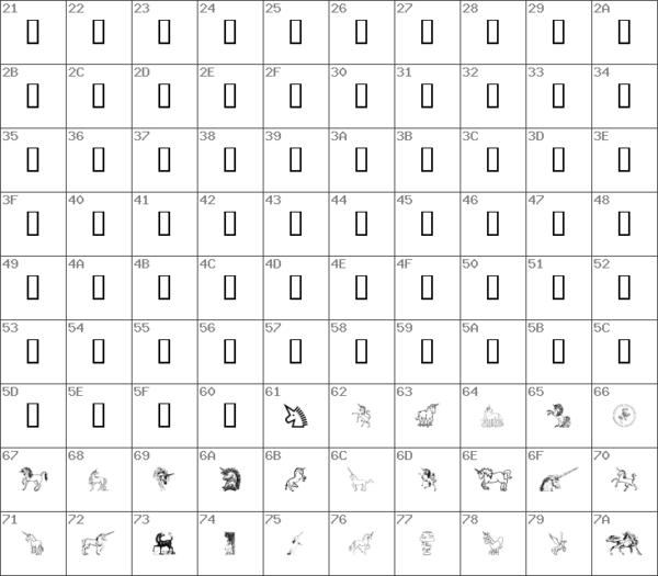 Download Free Gail's Unicorn Regular Font
