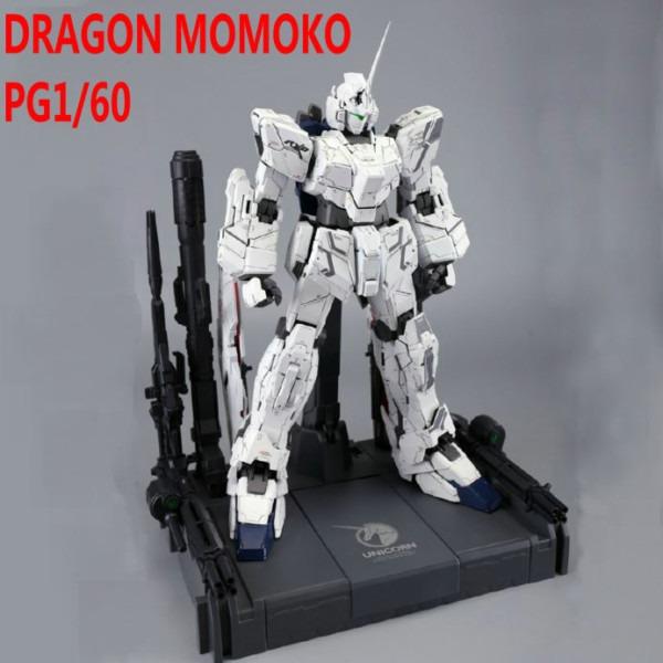 Dragon Momoko Gundam Pg 1 60 Unicorn Rx 0 Anime Action Figure
