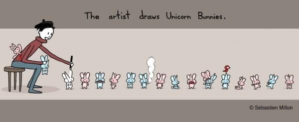 Drawing Unicorn Bunnies