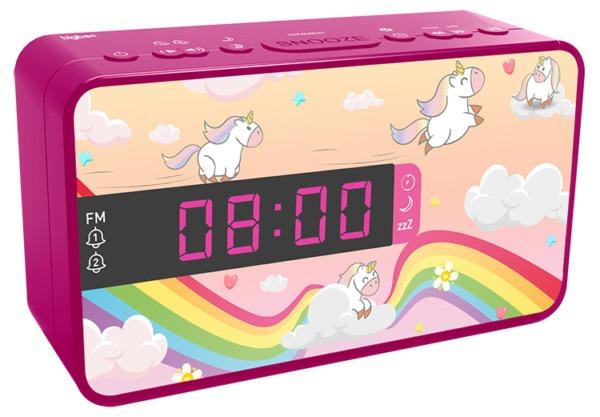 Dual Alarm Clock Rr16unicorn2 Bigben Kids