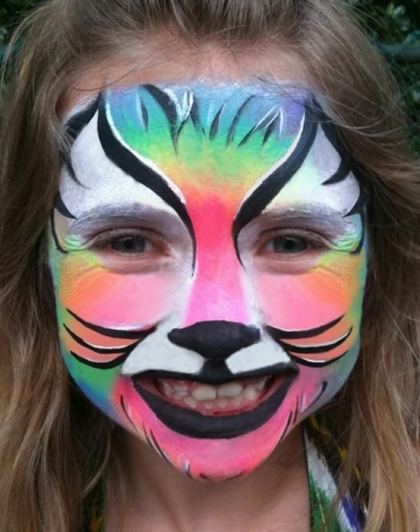 Easy Animal Face Painting