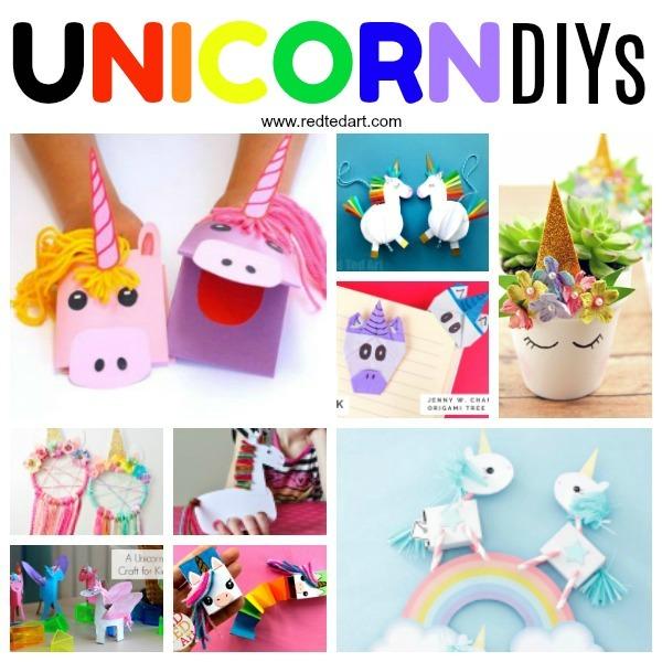 Easy Unicorn Crafts
