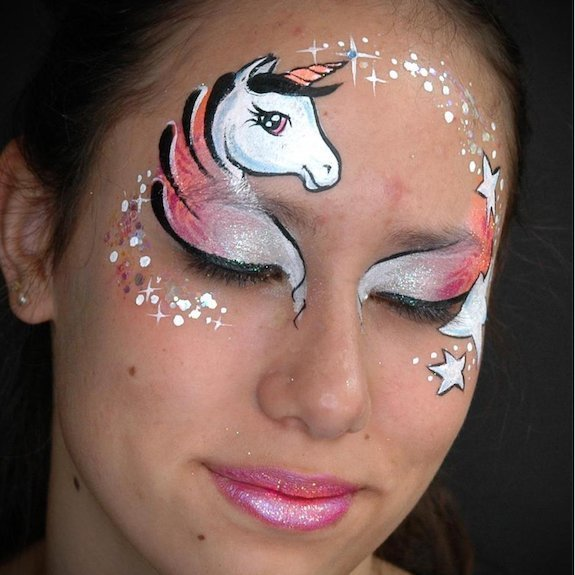 Easy Unicorn Face Paint Tutorial  Step By Step Guide
