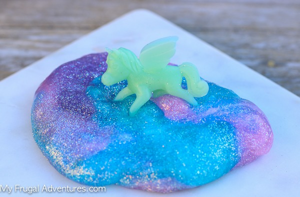 Easy Unicorn Slime Recipe