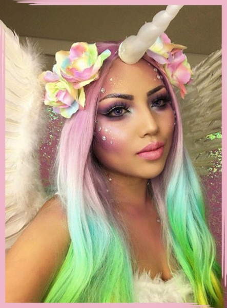 Ethereal Unicorn Makeup Ideas That'll Win Every Halloween Party