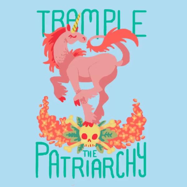 Feminist Unicorn Gif