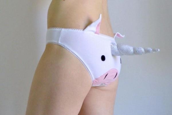 Finally, Some Decent 3d Unicorn Horn Underwear