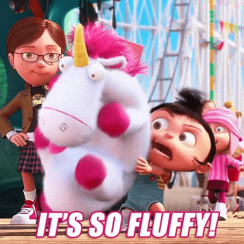 Fluffy Unicorn Gifs