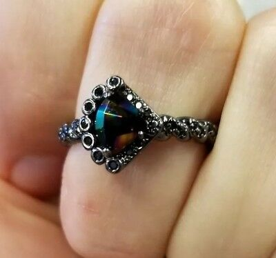 Fragrant Jewels Wicked Unicorn Ring Size 7