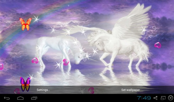 Free 3d Unicorn Live Wallpapers Apk Download For Android