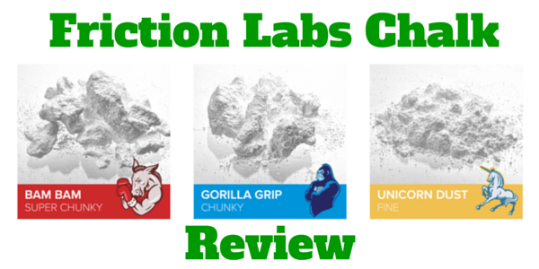 Friction Labs Chalk  A Review