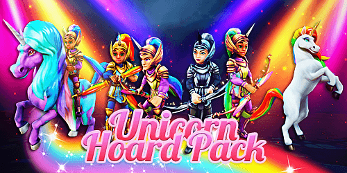 Frostcaller  Wizard101 Unicorn Hoard Pack