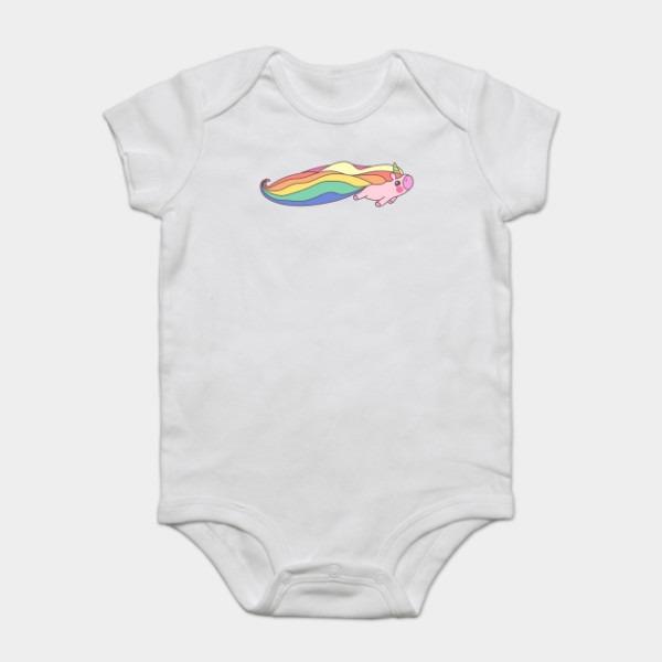 Funny Magical Flying Unicorn Baby Babycorn Gift