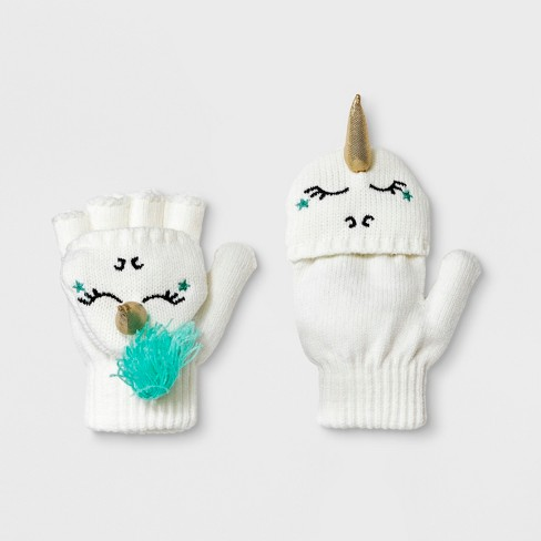 Girls' Unicorn Mittens