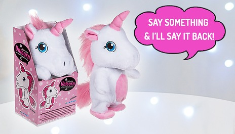 Gogroopie Walking & Talking Unicorn Toy