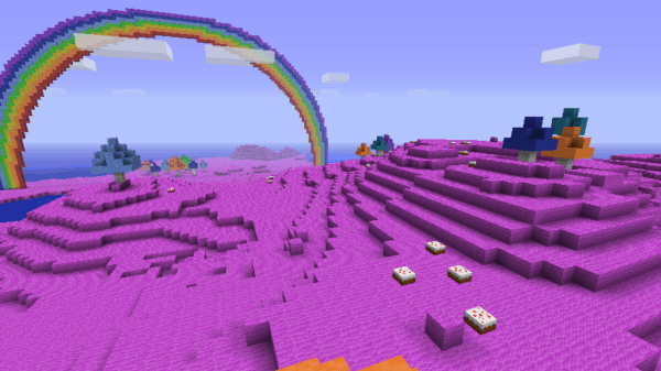 Got This Biome With Seed  Fabulous   Can We Get Unicorns Too
