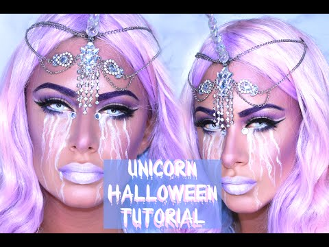 Halloween Unicorn Makeup Tutorial!