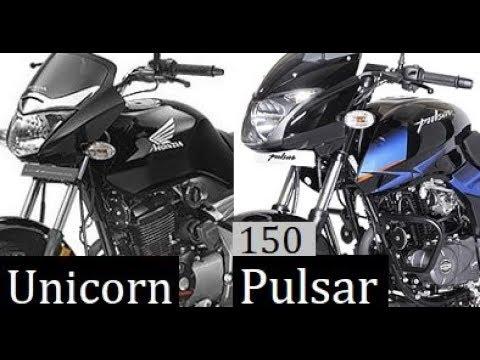 Honda Unicorn 150 Vs Bajaj Pulsar 150 Comparison Review