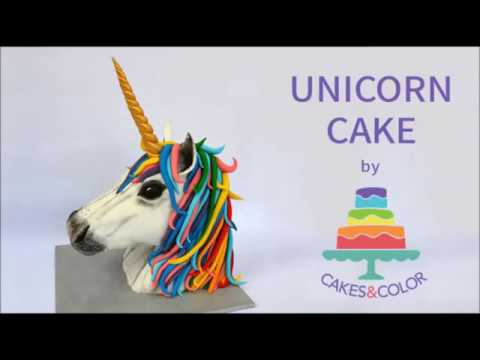 How To Make A 3d Unicorn Cake!