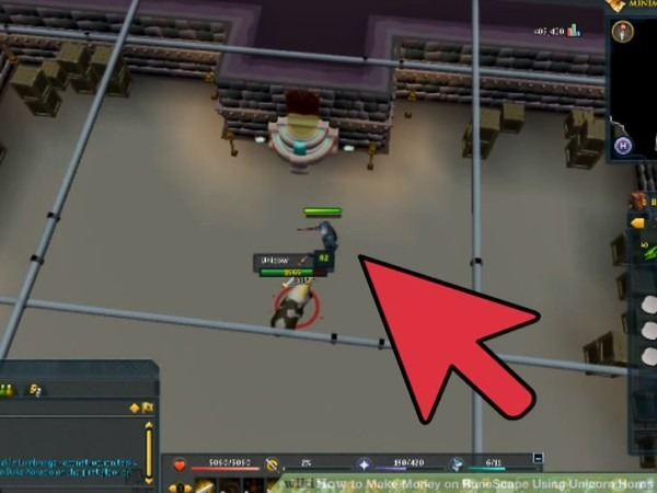 How To Make Money On Runescape Using Unicorn Horns (with Pictures)