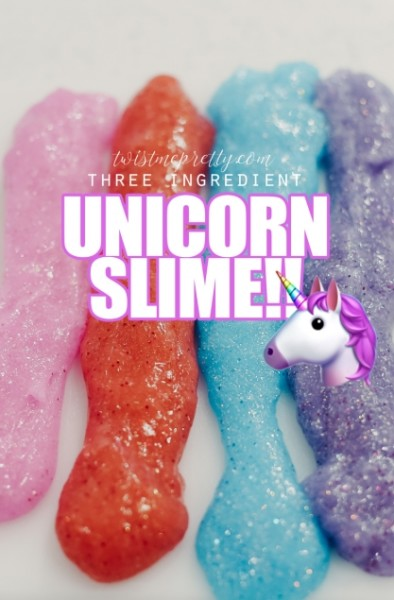 How To Make Unicorn Slime!!!