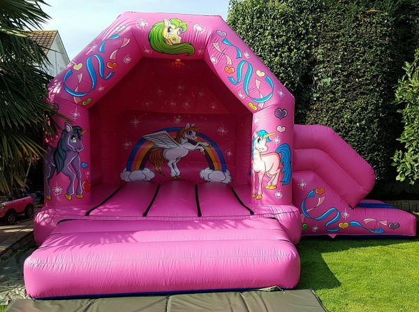 Jolly Kids Castles – Unicorn Bouncy Castle Hire